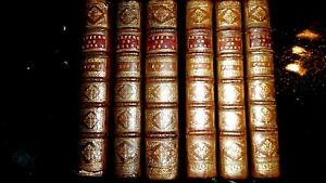 BUSSY RABUTIN-LETTRES & NOUVELLES LETTRES-6 VOL-1697-1727-EDIT ORIG POUR 3 VOL-