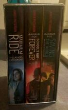 Box Set MAXIMUM RIDE James Patterson Fugitives Like New