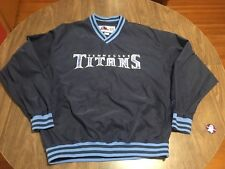 Tennesee Titans Medium Pullover Lightweight Jacket NFL Football