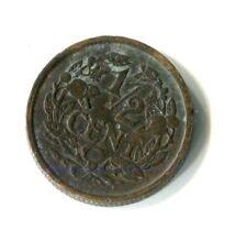 1/2 Cent Niederlande 1938 M_424