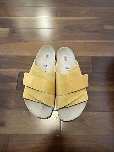 Birkenstock Kyoto Sandals Soft Footbed Ochre US M 12 / UK 11 / EU 45