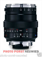 ZEISS DISTAGON 1,4/ 35mm ZM für M-Bajonett Leica, schwarz
