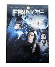 Fringe - Series 5 - Complete (DVD, 2013, 5-Disc Set, Box Set) cult action