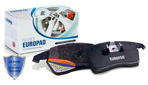 For BMW 318ci 2.0 Cabrio, Coupe [E46] 2005 - 2007 Europad Front Disc Brake Pads