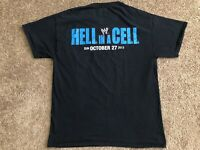WWE World Wrestling Entertainment Hell In A Cell Crew 2013 Black T Shirt Size L