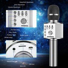 New ListingBonaok Wireless Bluetooth Karaoke Microphone,3-in-1 Portable Handheld karaoke