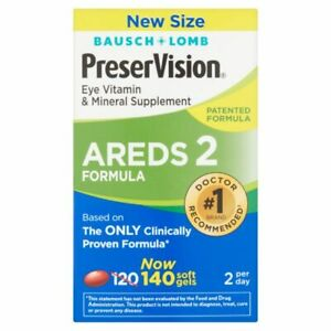 Bausch Lomb Preservision Areds 2 140 Soft Gels