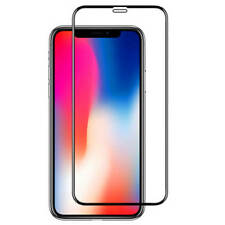 4D Displayschutz Panzerglas iPhone X Full Cover komplett Echt Curved 9H Schutz