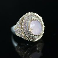 925 Sterling Silver Handmade Antique Turkish Quartz Ladies Ring Size 6-9
