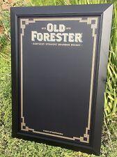 "Old Forester Kentucky Straight Bourbon Whiskey Beer Bar Chalkboard ""New"""