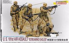 Shanghai Dragon US 101st Air Assault, 'Screaming Eagles'  Figures in 1/35 3011