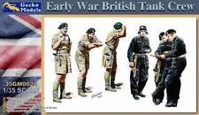 GECKO MODELS 135 WWII BRITISH TANK CREW EARLY WAR 35GM0022