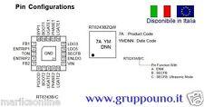 RT8243A GQW RT8243AZQW 8A=EE 8A=EC 8A EF 8A ED 8A EH QFN20 IC Chip - In Italia