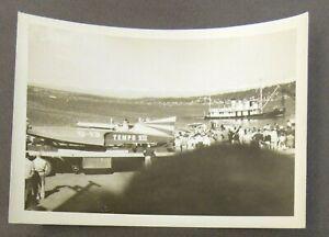 "1955 G-13 TEMPO VII original 5"" x 3.75"" SNAPSHOT photo Hydroplane race boat 0"