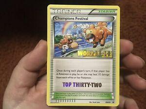 Pokemon Card Promo Champions Festival BW95 Top Thirty Psa Ready