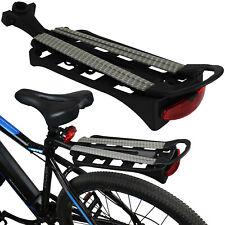 Fahrradgepäckträger Fahrrad Gepäckträger MTB Rad Spanngurt Sattelstütze Montage