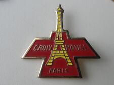 PIN S CROIX ROUGE PARIS