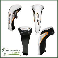 Golf Club Acer Fairway Wood Headcover / Cover - White, Black, Orange - HCZD3563