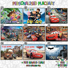 A4 Kids Personalised Placemat ( A4 Photo Laminate ) Great Stocking Filler Gift 3