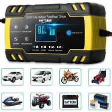 KFZ Auto Batterie Ladegerät Reparatur Akku Starthilfe 12/24V 6-150AH PKW LKW