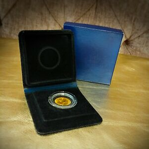 1966 Royal Mint Full Gold Sovereign - Year England Won the Football World Cup