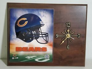 Chicago Bears Wall Clock 2000 Photo File Print Quartz Clock NFL