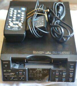 PLAY NTSC PAL DVCAM MiniDV Mini DV Tapes w/ JVC BR-DV3000U Player Recorder VCR