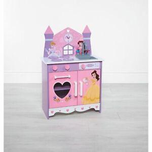 Pink Disney Princess Children's Wooden Play Kitchen Brand New Boxed