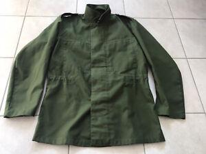 Schwedische Armee Feldbluse oliv/grün (Feldhemd Feldjacke Army Militär Vintage)