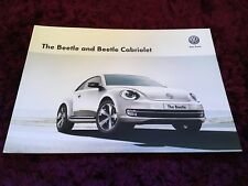 VW Beetle & Cabriolet Brochure 2015-DEC 2014 issue-dernier numéro