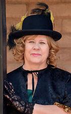 New listing Wool Hat Victorian Black Cosplay Halloween Civil War Saloon Sass Sz Xl