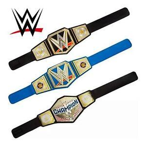 WWE Championship Title Belts Toy Wrestling Belt New Kids Costume Mattel