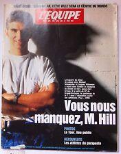 L'Equipe Magazine du 12/7/1997; Mr Hill/ Brian Hart/ Virenque/ Eric Srecki/ Pio