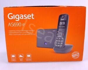 Gigaset AS 690 IP Schnurlostelefon VoIP-Gespräche Festnetz Telefonie [Italien]