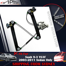 Front Left Window Regulator without Motor for Saab 9-3 YS3F Sedan Only 2003-2011