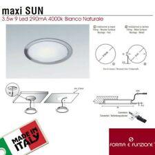 MAXI SUN 12V Faretto Led incasso per Mobili Cappa Controsoffitto  3.5W 4000K
