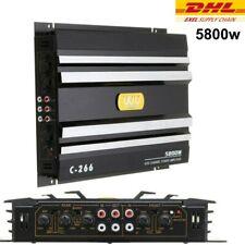 C-266 | Hifi 4-Kanal Endstufe Verstärker 12V KFZ Auto PKW Amp 5800 WATT