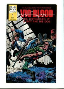 Vic and Blood 1 .Richard Corben . Mad Dog Graphics 1987 . FN / VF