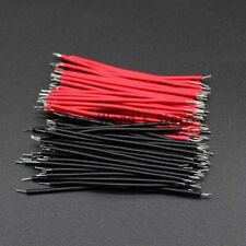 Breadboard Jumper Cable Wires 100Pcs PCB Solder Cables Conductor Connector Wires