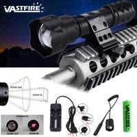 Tactical T20 IR 850NM Flashlight 38mm Illuminator Night Vision Light for Hunting