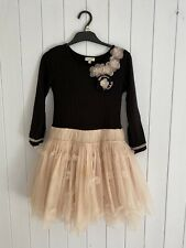 Girls Tutu Dress Size 6 Years ELIANE ET LENA black And Pink/beige