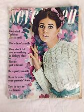 Seventeen Magazine April 1968 Summer Fashion Issue 60's Damaged
