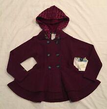 NWT MATILDA JANE Paint By Numbers Hawthorne Rose Peplum Wool Jacket 8