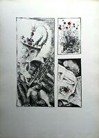 Godwin Ekhard - Litografia originale del 1966 numerata e firmata
