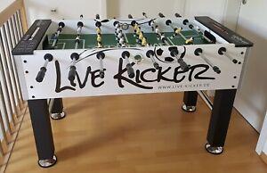 Kickertisch von Live-Kicker