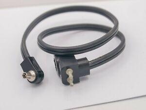 Rare - Graflex Etc. Male Bi-Post To Male PC Sync Flash Cable Cord