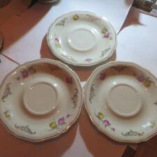 3 petites assiettes « Bavaria Elfenbein Porzellan »