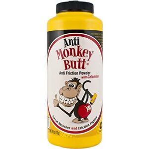 Anti Monkey Butt Anti Friction Powder w/ Calamine, 6 oz (4 Pack)