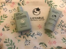 Liz Earle cleanse & polish 30ml & instant boost tonic 50ml plus bag set new