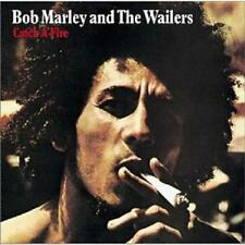 """BOB MARLEY & The Wailers CATCH A FIRE promo punched RE LP 12"""" Near Mint Tuff Gon"""